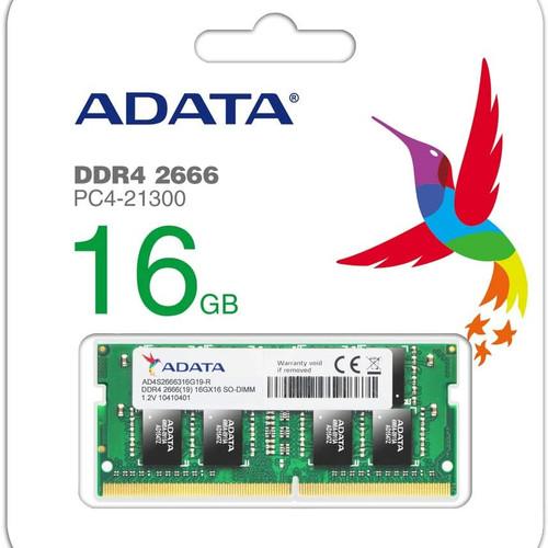 Foto Produk MEMORY ADATA 16 GB DDR4 2666 MHz Sodimm dari Yoestore