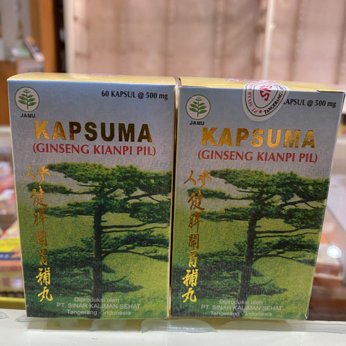 Foto Produk Kapsuma ginseng kianpi pil dari sentosaherbs