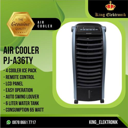 Foto Produk Air cooler sharp PJA 36 TY / Air cooler sharp pja36ty - Hitam dari King_Elektronik