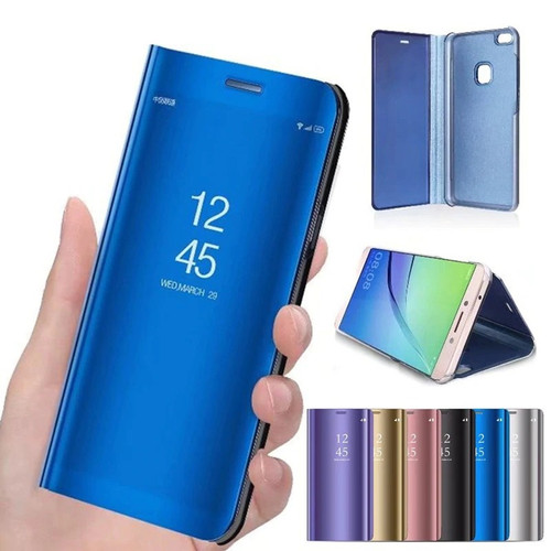 Foto Produk Clear View Y30 Y50 Vivo Flip Mirror Case Book Cover Standing Casing dari Indo Smart Acc