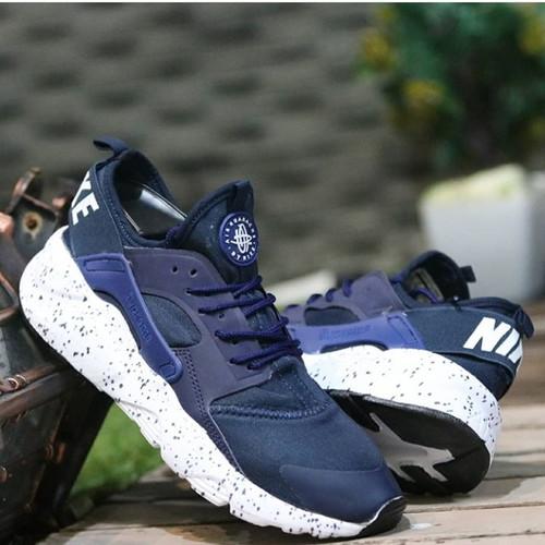Sepatu Nike Huarache Women Navy