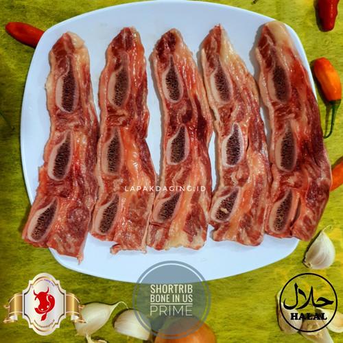 Foto Produk Iga Steak Shortrib Bone In US Prime dari BERKAH JAYA MEAT