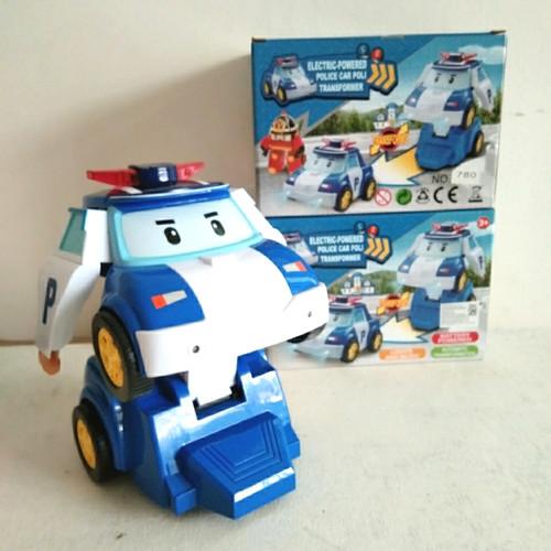 Foto Produk Mainan Mobil Robot Poli Bisa Jalan dan Music dari StoryOfToys