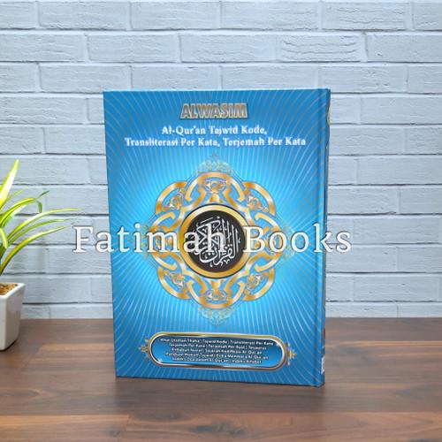 Foto Produk Alquran Alwasim Besar, Alquran Tajwid, Alquran Terjemah Per Kata. A4 dari fatimah Books