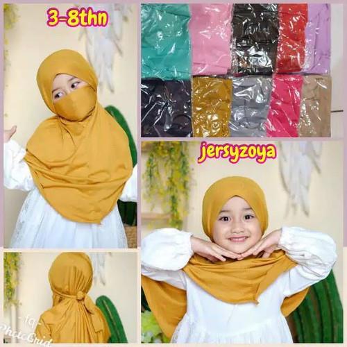 Foto Produk Hijab Nikob Anak - Hijab Anak Nikob Pastan - Kerudung Instan Anak dari ABBAS19 store