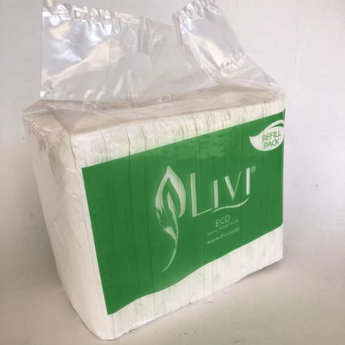 Foto Produk tissue LIVI ECO facial refill 600s dari Toko LuShan