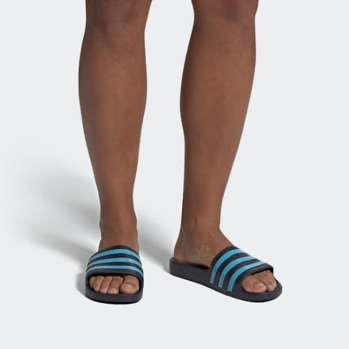 Foto Produk Sendal adidas original Adilette Aqua black blue new 2020 dari Kicosport
