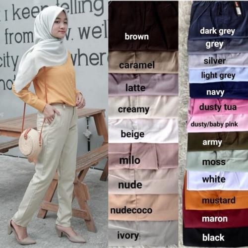 Foto Produk Celana Kerja Wanita // Celana Baggy Pant // Celana Panjang Wanita dari Toko elArsy