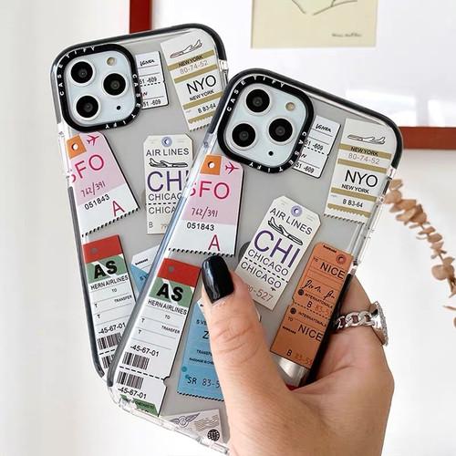 Foto Produk CASETIFY TICKET IPHONE 7 8 7/8plus X Xs Max XR 11 11pro 11promax - 7/8/SE2 dari Thecasesdiary