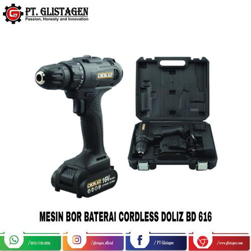 Foto Produk Mesin Bor Baterai Cordless Drill 16 Volt Doliz BD 616 dari PT. GLISTAGEN