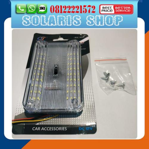 Foto Produk Lampu Plafon Mobil Universal/Car Indoor Lamp/Lampu Plafon Kabin LED dari Solaris_shop