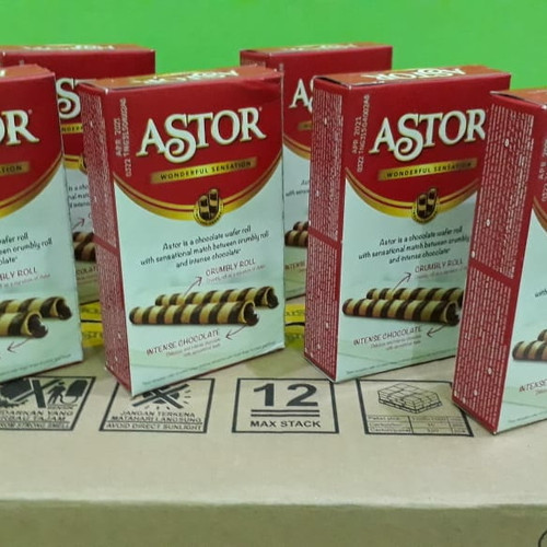 Foto Produk Astor Roll Cokelat 40gr dari Sumber Berkah Boga