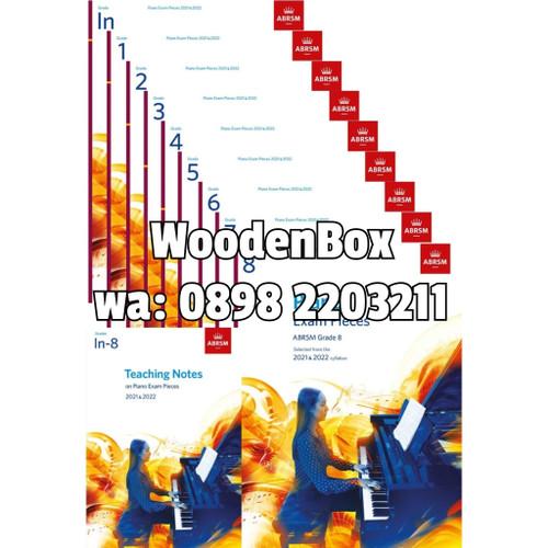 Foto Produk Piano Exam Pieces 2021 & 2022 Book Only Grade In 12345678 Ujian ABRSM - Initial dari WoodenBox