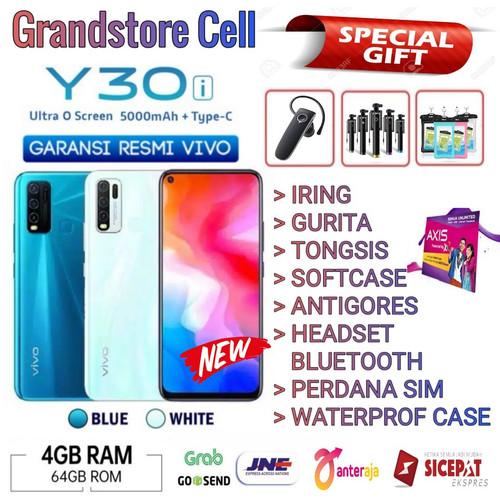 Foto Produk VIVO Y30i RAM 4/64 GB GARANSI RESMI VIVO INDONESIA - Demo Tanpa Dus dari Grandstore cell