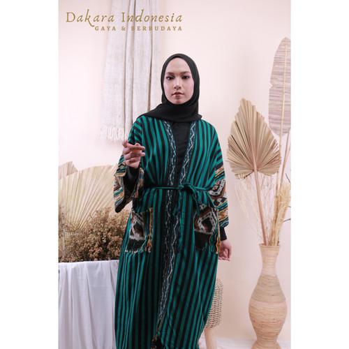 Foto Produk Outer Oversize Etnik Tenun Ikat Dakara Indonesia dari Dakara Indonesia