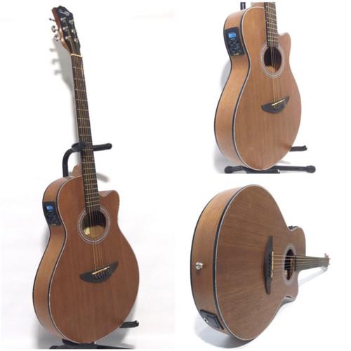 Foto Produk Gitar akustik elektrik COWBOY GWC-38NS ORIGINAL TUNER dari Blaze Music