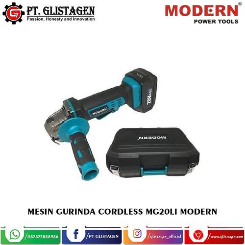 Foto Produk Mesin Gerinda Baterai Cordless Grinder Modern MG-20Li 20Volt MG 20 LI dari PT. GLISTAGEN