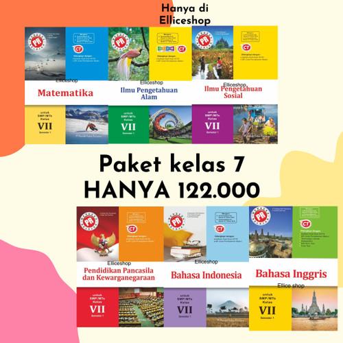 Foto Produk Paket Buku PR SMP kelas 7/ VII tahun 2020 Intan Pariwara 6 mapel - Semester 1 dari Ellice Shop