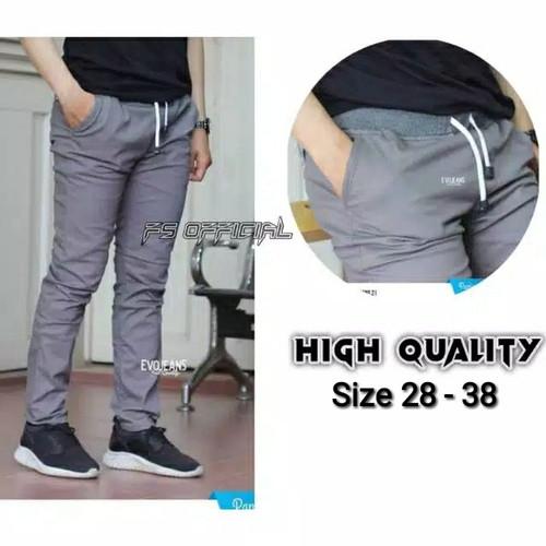 Foto Produk Celana Panjang Chino Pria Size 27-38 Premium Quality Celana Kerja Pria dari Nani Batik Pekalongan