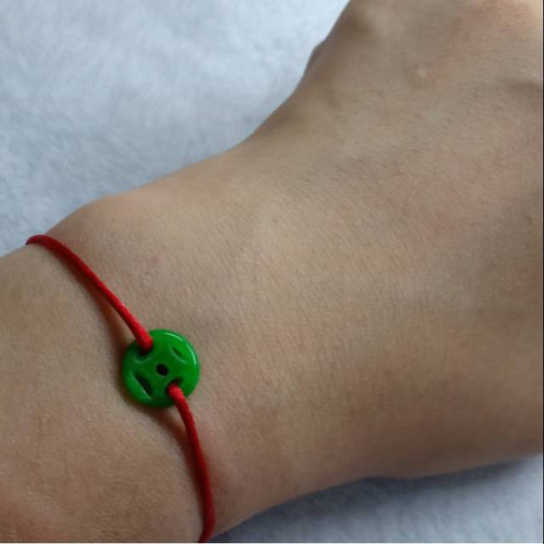 Foto Produk Gelang Giok Hijau Asli Koin Cina Keberuntungan dari IndChiKnotting