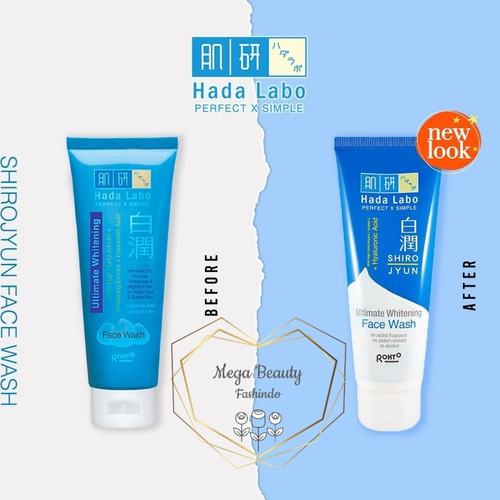 Foto Produk Hada Labo Hadalabo Shirojyun Ultimate Whitening Face Wash 100gr 100g dari Mega Beauty Fashindo