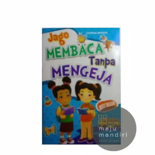 Foto Produk Buku TK Jago Membaca Tanpa Mengeja - Buku Aktifitas Anak - Buku Anak dari Maju Mandiri 88