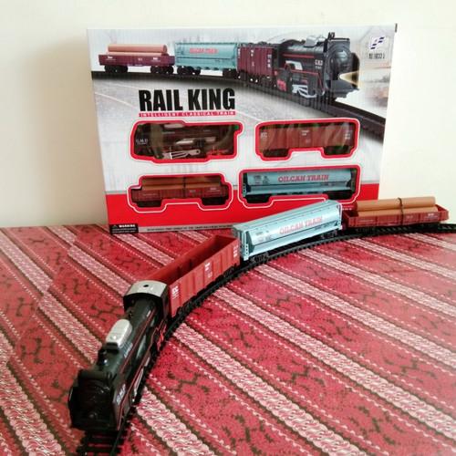 Foto Produk Rail King Classical Train, mainan kereta rel-19033-5 dari StoryOfToys