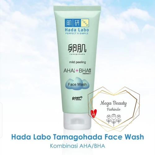 Foto Produk Hadalabo Hada Labo Tamagohada Ultimate Mild Peeling Face Wash 50gr 50 dari Mega Beauty Fashindo