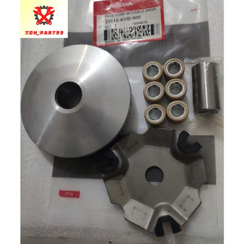 Foto Produk RUMAH ROLLER ASSY SET VARIO 110 KARBU (KVB) dari TDH_PART99