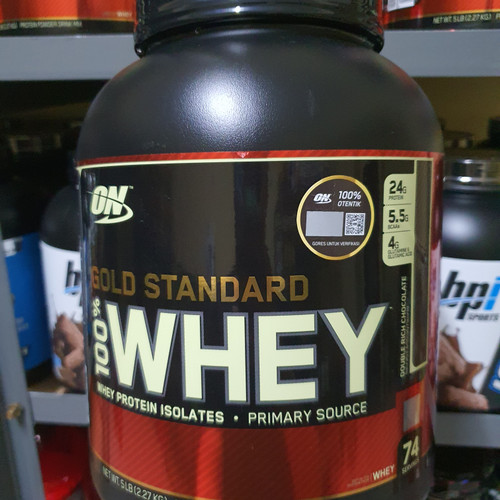 Foto Produk ON Whey Gold Standard 5lbs dari Bestsportnutrition