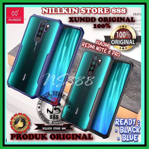Foto Produk XIAOMI REDMI NOTE 8 PRO XUNDD ORIGINAL HARD CASE SHIELD ARMOR IPAKY PC dari Nillkin Store 888