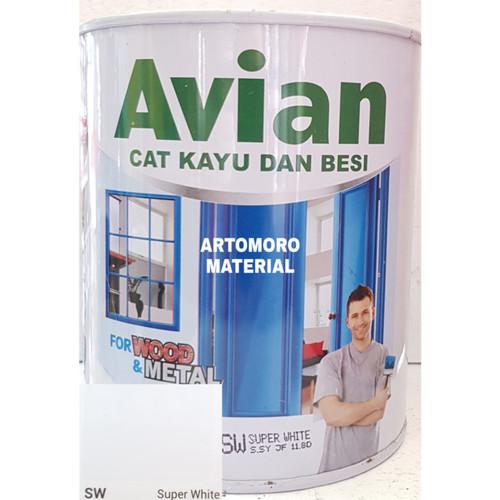 Foto Produk Cat Besi / Kayu Avian Putih (Super White) dari AnakSepakbolaJersey