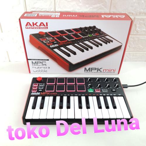 Foto Produk keyboard mini controller AKAI MPK MINI ORIGINAL GARANSI RESMI dari toko DeL Luna