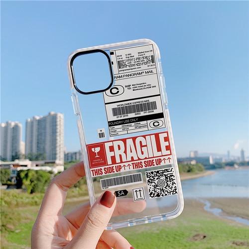 Foto Produk BUMPER FRAGILE CASE IPHONE 7 8 7/8plus X Xs Max XR 11 11pro 11pro max - 7/8/SE2 dari Thecasesdiary