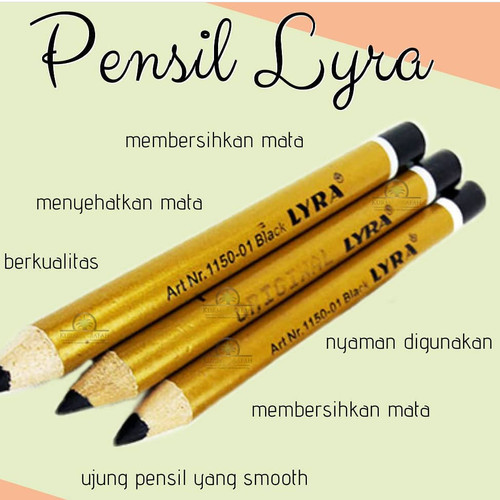 Foto Produk pensil alis lyra 1biji/ pensil alis lyra/ pensil alis murah dari kurma raja murah