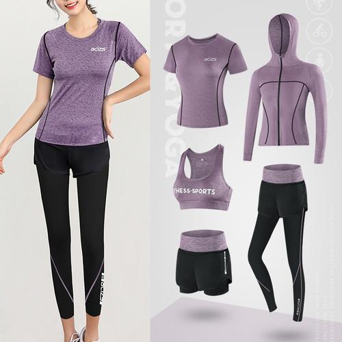 Foto Produk Setelan Baju Olahraga Wanita celana pinggang tinggi 5 in 1 dari elitestore73