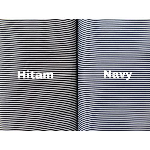 Foto Produk Kain katun jepang tokai senko salur / stripe / garis kecil dari Klarisma Textile