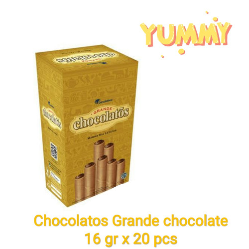 Foto Produk Gery Chocolatos 16gr - 1box isi 20pcs - Coklat dari snack_it