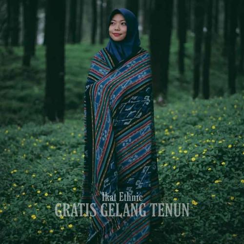 Foto Produk Kain Tenun Etnik Blanket Tenun Ikat Jepara Tenun Blanket Flores NTT dari IE Tenun Troso Jepara