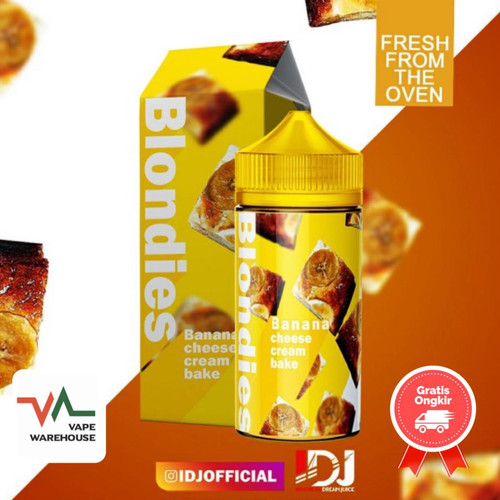 Foto Produk Blondies Banana Cheese Original - 3mg dari Vape WareHouse