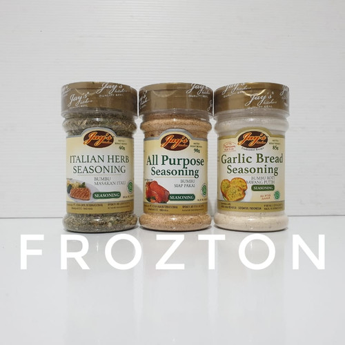 Foto Produk Jay's Italian Herb All Purpose Garlic Bread Seasoning jays - All Purpose dari FROZTON Frozen Food