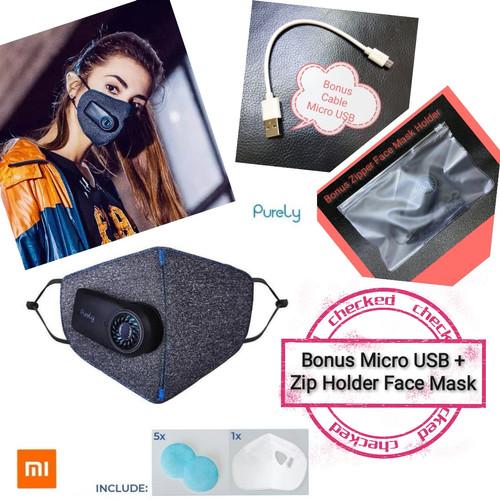 Foto Produk Xiaomi Masker Purely KN95 Air Mask Anti Pollution PM2.5 550mAh HZSN001 dari dnmlocker
