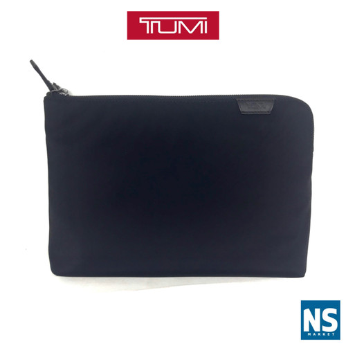 Foto Produk T UMI Harrison Zip Pouch / T UMI Harrison Clutch - Black dari NS Market Official Store