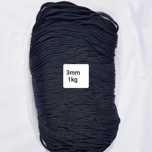 Foto Produk TALI KUR 3mm/2B ISI 1KG ( P008 ) - Putih dari franky interlining