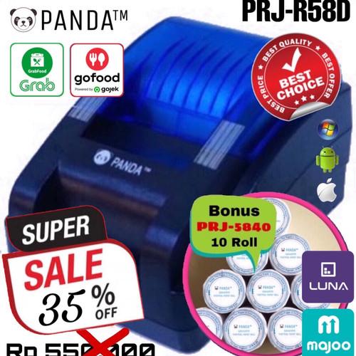 Foto Produk PRINTER BLUETOOTH KASIR/PPOB PANDA PRJ-R58D THERMAL 58MM ANDROID+IOS+W dari PANDA RETAIL SOLUTIONS