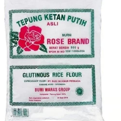 Foto Produk Tepung ketan Rose brand kemasan 500 gr dari LERENG LAWU