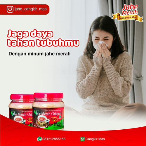 Foto Produk Jahe Merah Original dari Jahe Merah Cangkir Mas Asli Pedesnya Jahe Merah