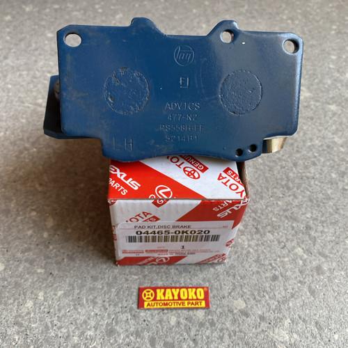 Foto Produk Brake pad depan Toyota Hilux 04465-0K020 Kampas rem depan dari Dua Putra makmur