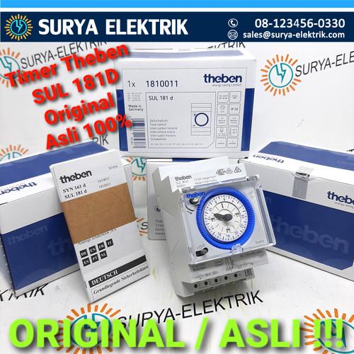 Foto Produk timer time switch analog Theben otomatis lampu theben sul 181D 181 D dari SURYA-ELEKTRIK