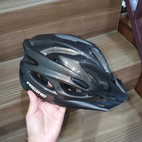 Foto Produk Helm Sepeda PACIFIC SP-J-123 Motif Carbon dari Sepeda Holic